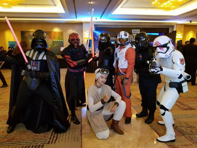 Star Wars Walkabout - RHB Event